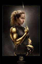 TEAM GOLD Mariel Zagunis 2 by MichaelO