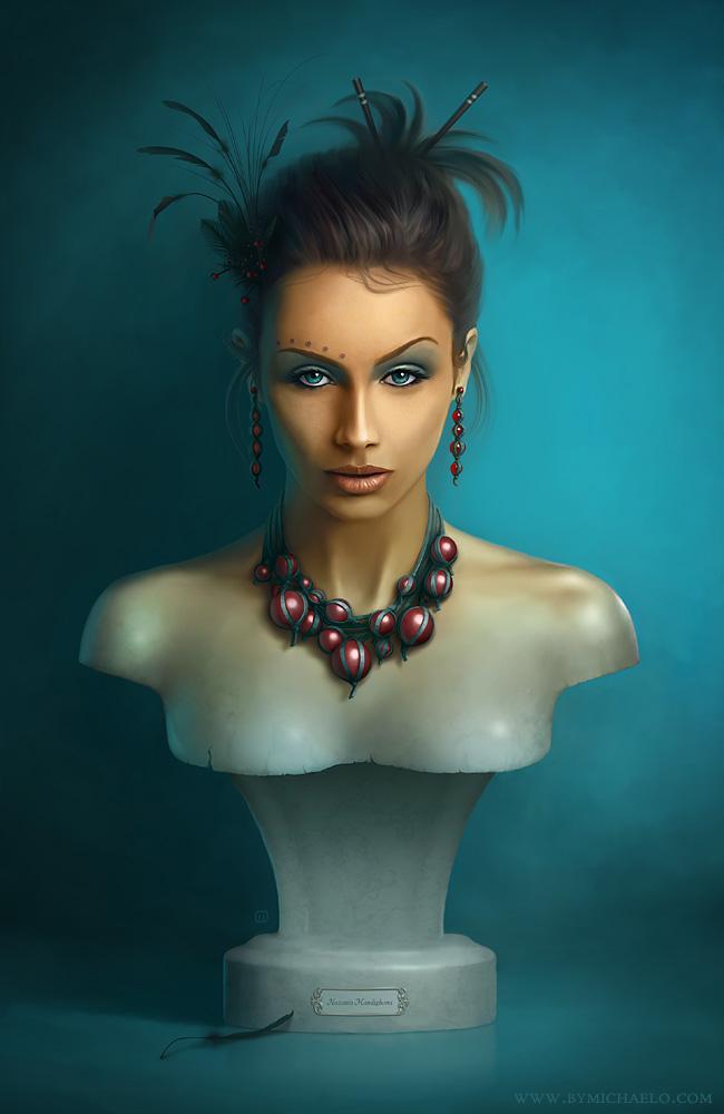 Timeless Beauty Original by MichaelO