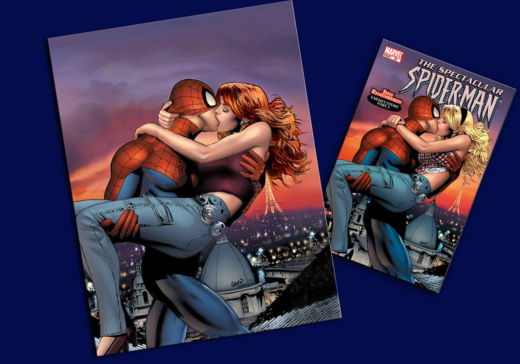 Spider-Man and Mary Jane by Captivated2