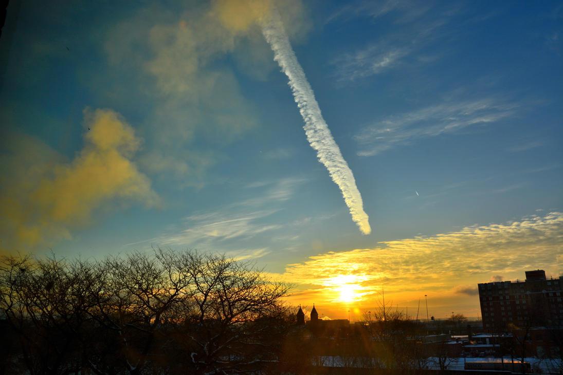 sky writer by TomKilbane