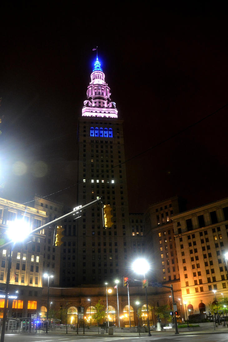 Cleveland Terminal Tower by TomKilbane