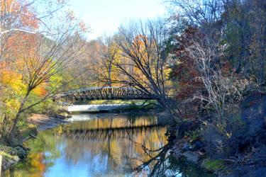 The Bridge in Autumn by TomKilbane