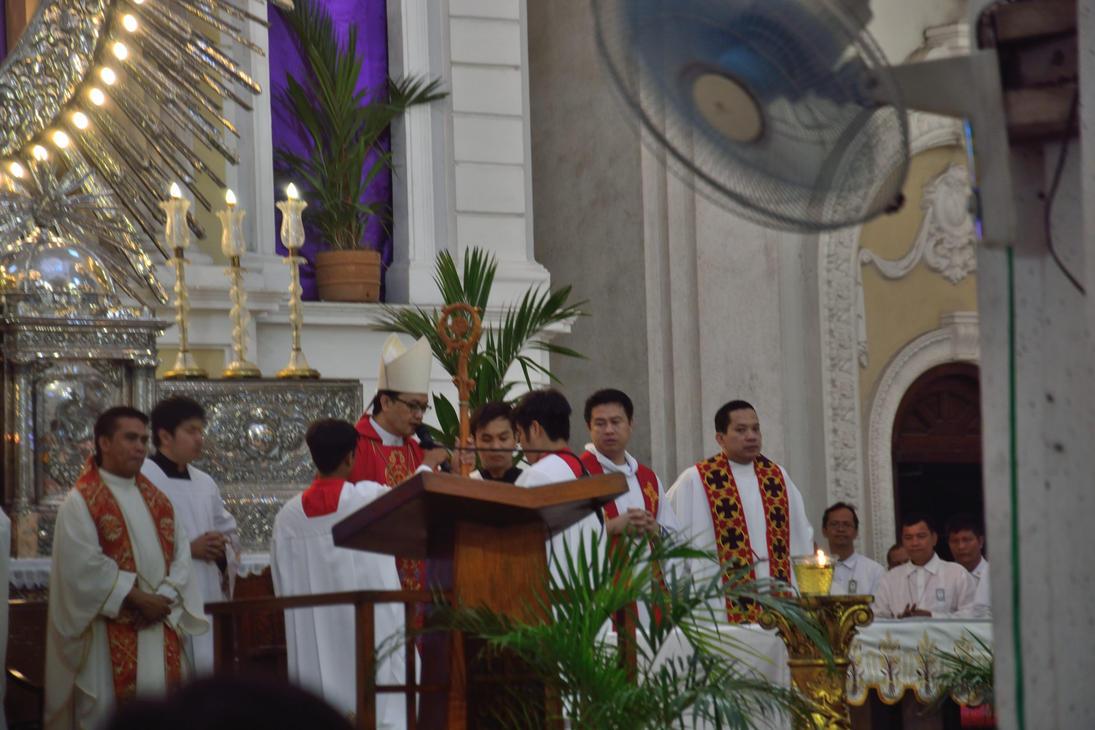 Palm Sunday Mass by TomKilbane