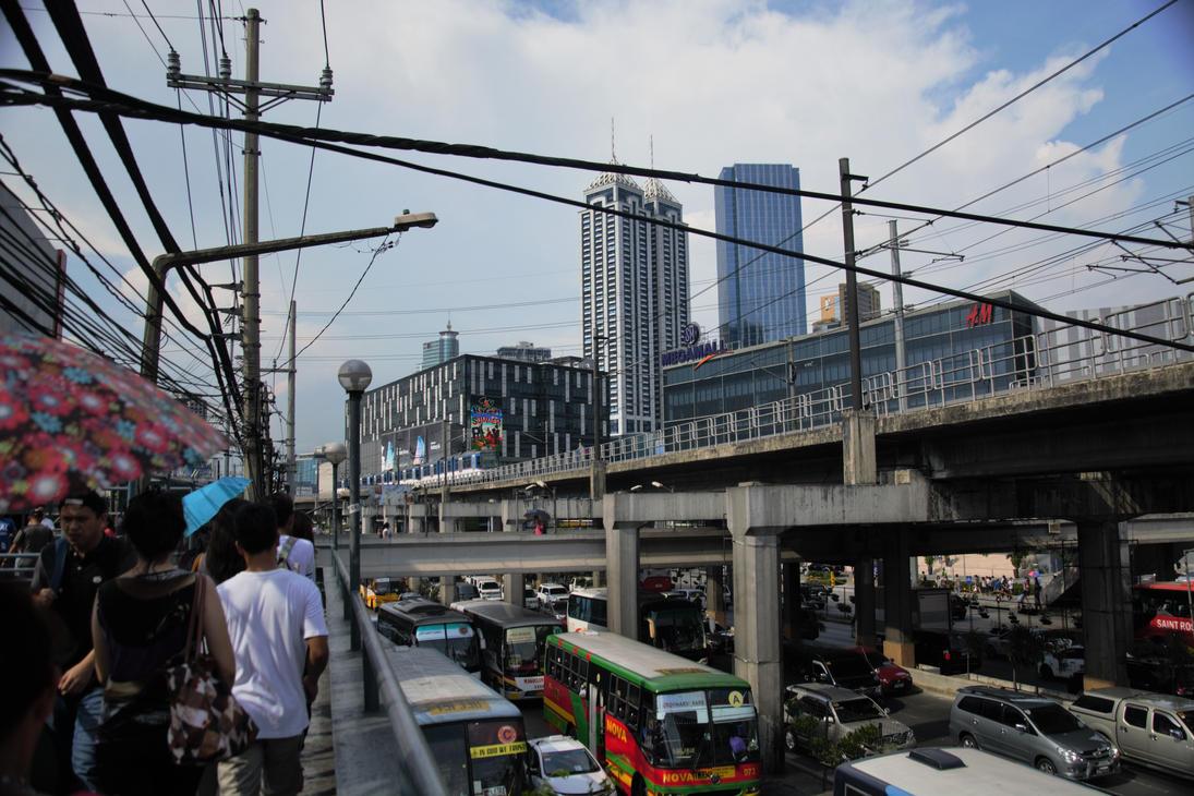 Manila Mega Mall by TomKilbane