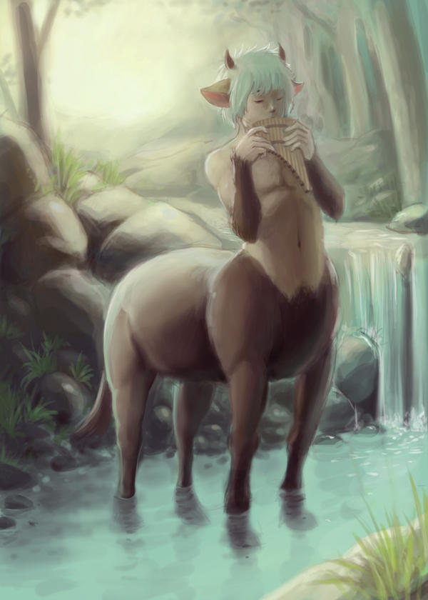 Young Centaur Remake by GatesuRyu