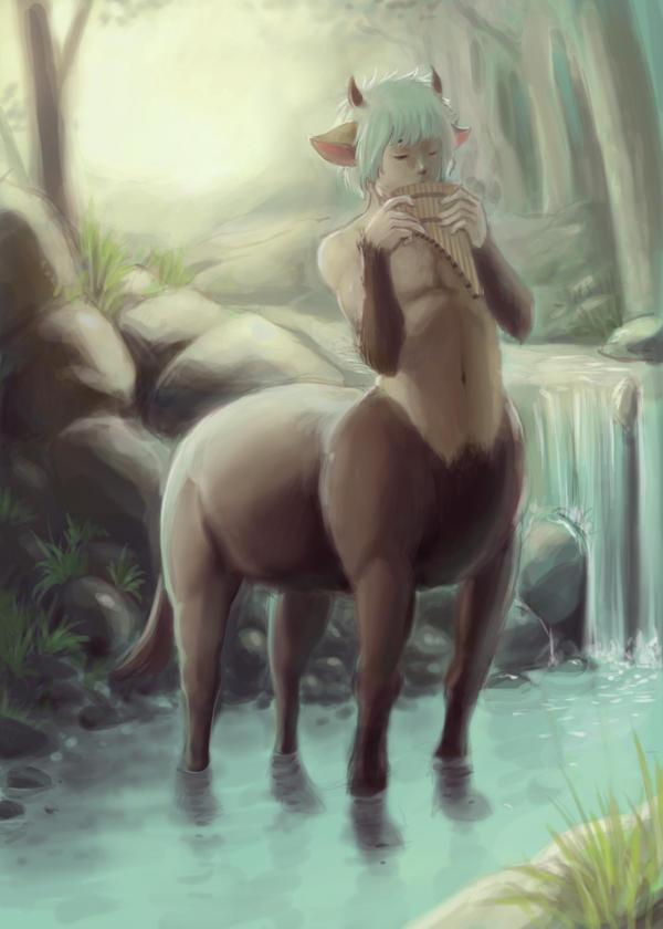 Young Centaur Remake by GatesuRyu