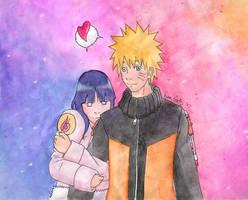 Naruto and Hinata by GatesuRyu