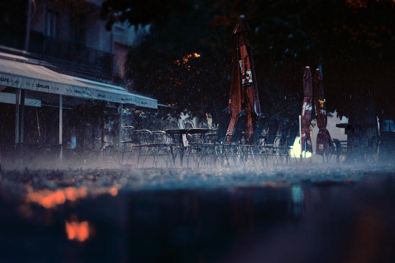 You say you love the rain... by vesaspring