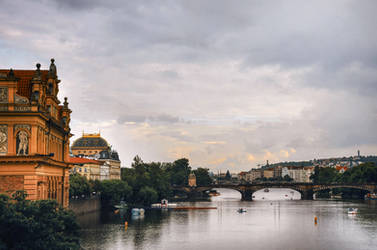 Postcard from Prague by vesaspring