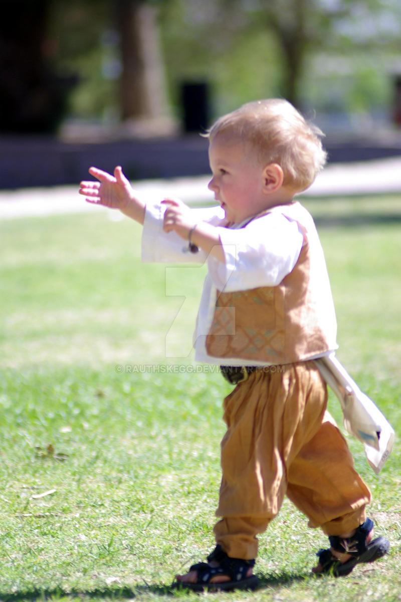 The Cute Little Boy 2 by Rauthskegg