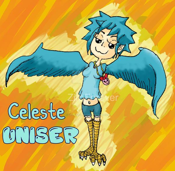 Celeste Chibi by ZiroForever