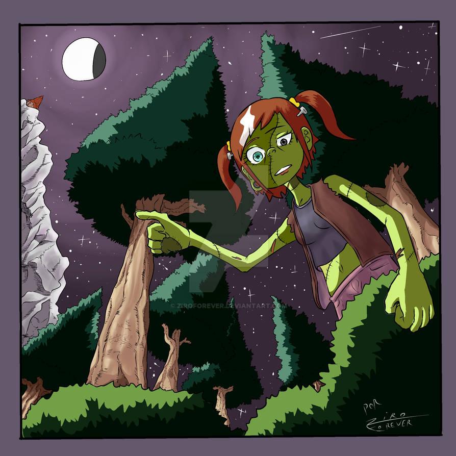 Chica Frankenstein by ZiroForever