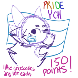 open pride ych!! - 150 points only
