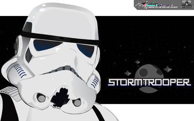 stormtrooper wallpaper by habihyejun
