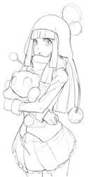 Gilda Mars Fan Art? by FreezingCicada