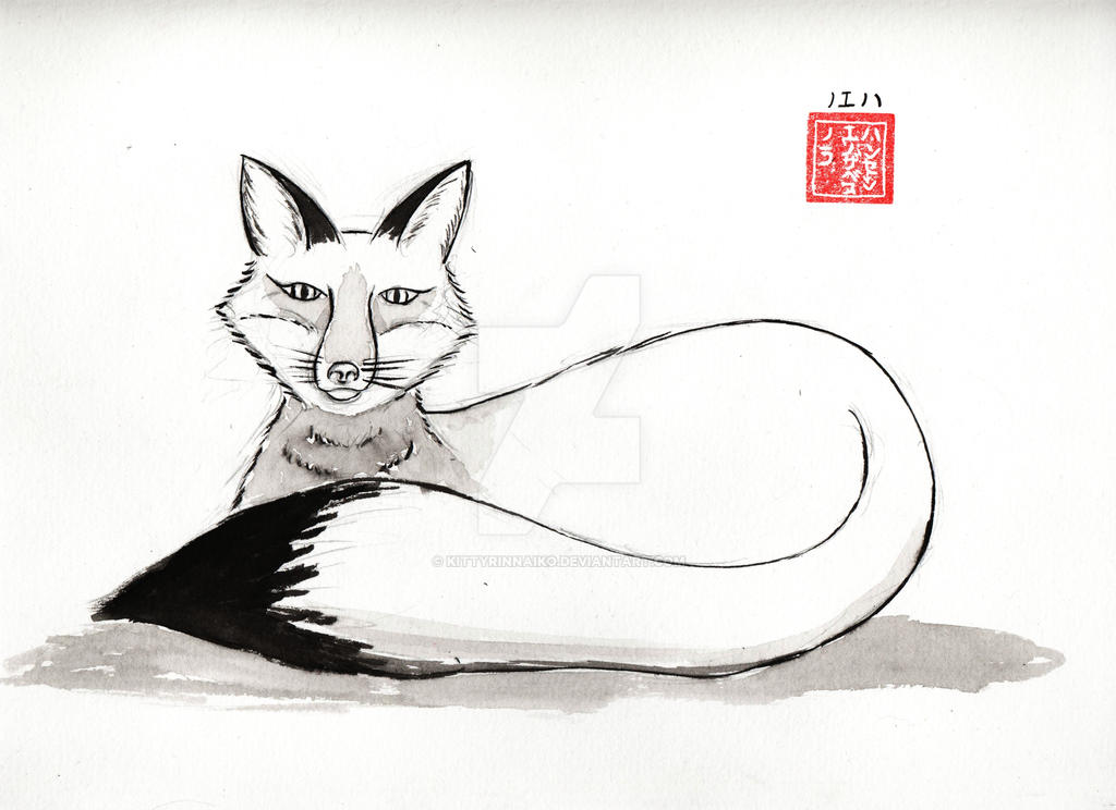Ink fox