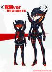 KILL LA KILL - Ryuko Matoi Reworked Costume