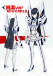 KILL LA KILL - Satsuki Kiryuin Reworked Costume