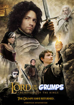 THE LORD OF THE GRUMPS - Game Grumps Movie Poster