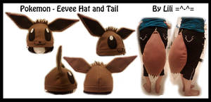 1st Gen - Eevee Hat and Tail