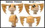 Patamon Fleece Hat