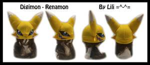 Renamon Fleece Hat