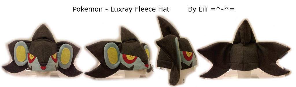 Luxray Hat by LiliNeko
