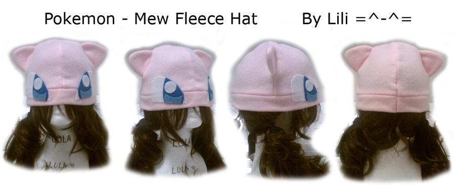 1st Gen - Mew Hat by LiliNeko