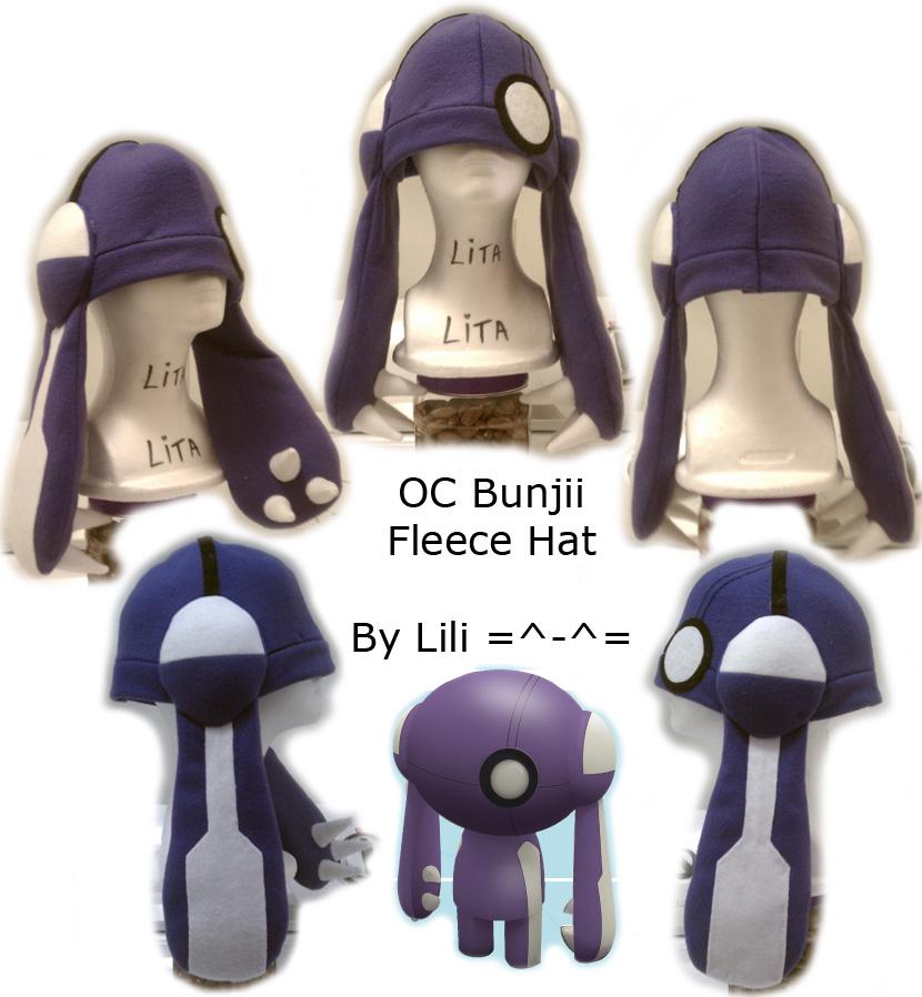 OC Bunjii Hat by LiliNeko