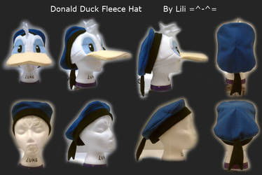 Donald Duck Hat by LiliNeko