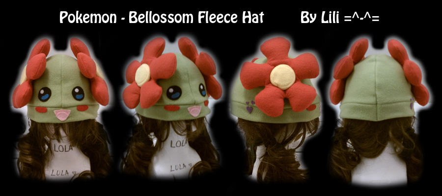 Bellossom Hat by LiliNeko