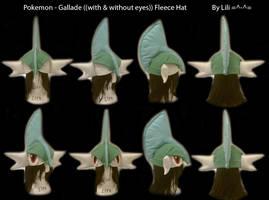 Gallade Hat by LiliNeko