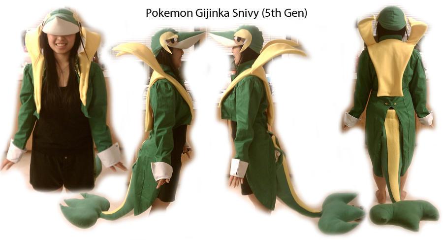 Gijinka Snivy Outfit Set by LiliNeko