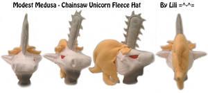 Chainsaw Unicorn Hat