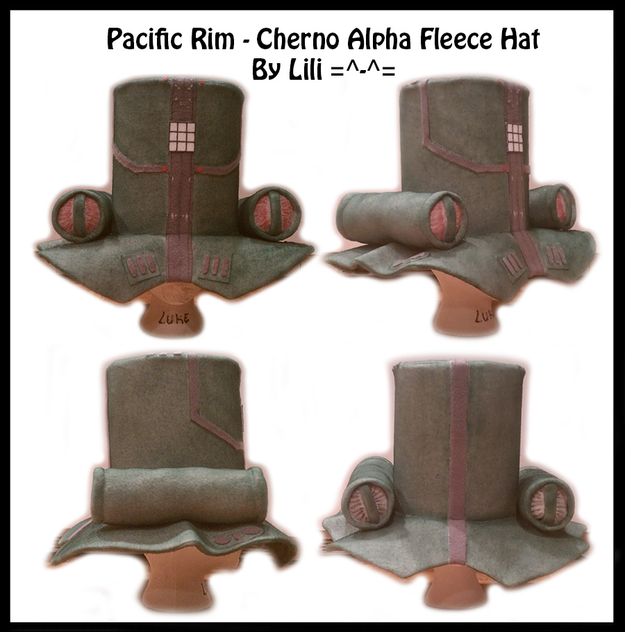 Pacific Rim - Cherno Alpha Hat by LiliNeko