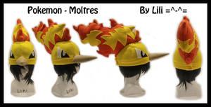 1st Gen - Moltres Hat by LiliNeko