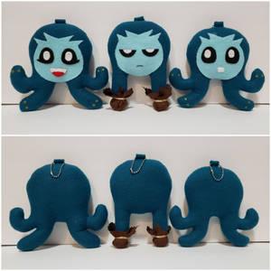 Modest Medusa Keychains