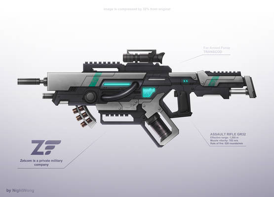Assault rifle 1