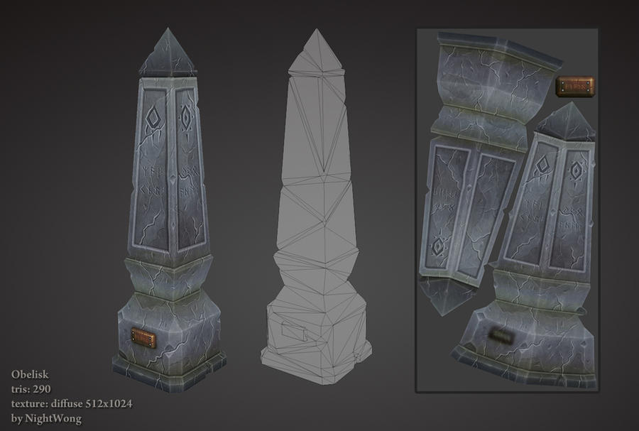 Obelisk by NightWong