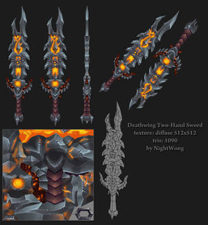 Deathwing Two-Hand Sword