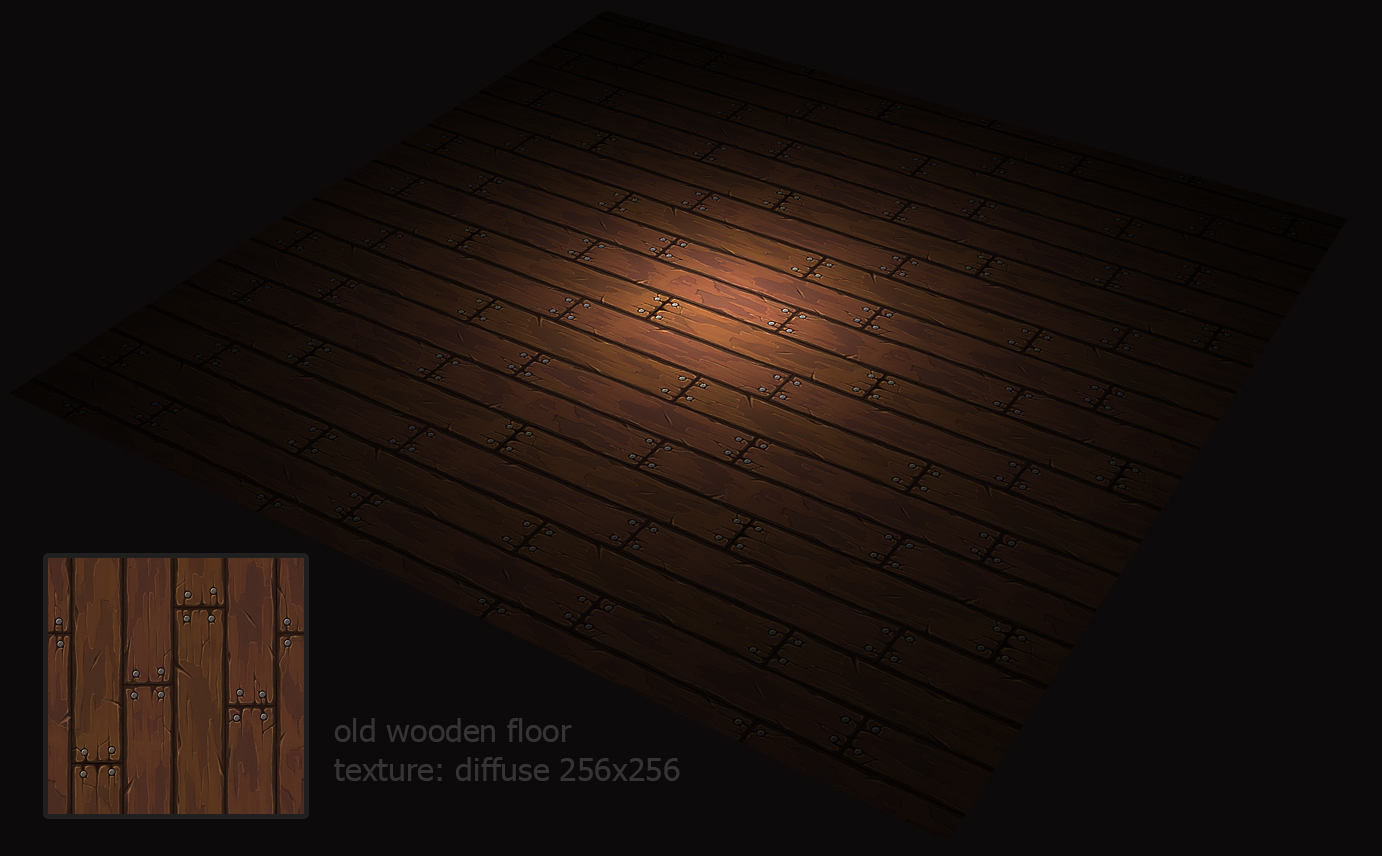 Old wooden floor by NightWong