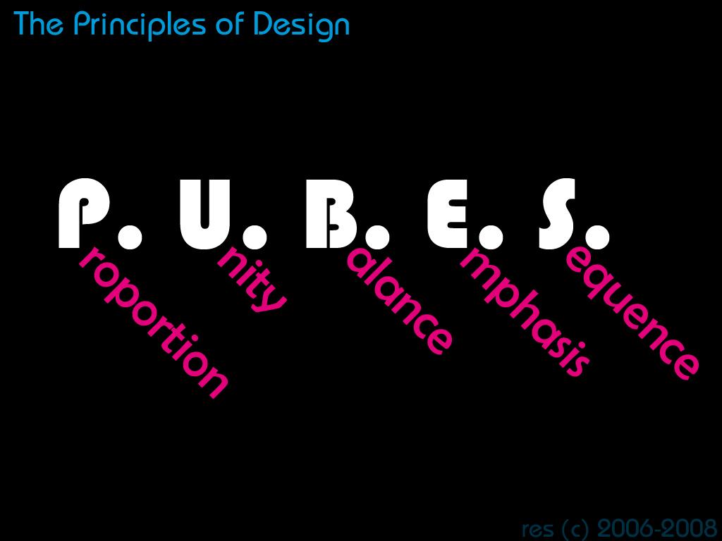 5 Principles Of Design Art : Principles of design by resresres on deviantart