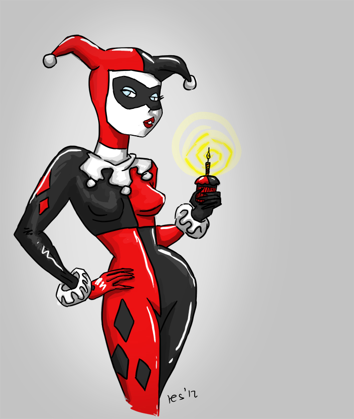 Harley quinn birthday card by resresres on deviantart harley quinn birthday card by resresres bookmarktalkfo Gallery