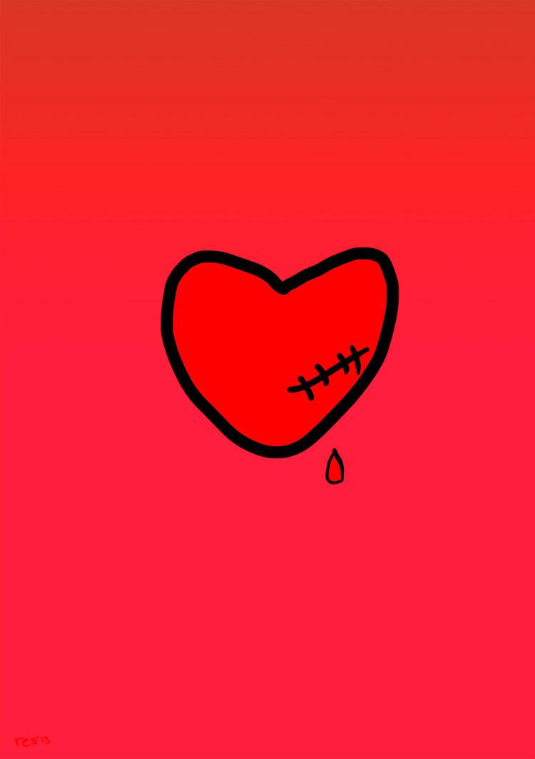 Scarred bleeding heart by resresres on deviantart scarred bleeding heart by resresres buycottarizona