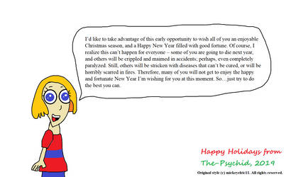 Molly's Heartwarming Holiday Message