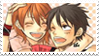 Luffy x Nami - Stamp by xAssiduityx