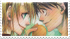Nami x Luffy - Stamp by xAssiduityx