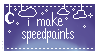 I Make Speedpaints Stamp by n1gga-chan