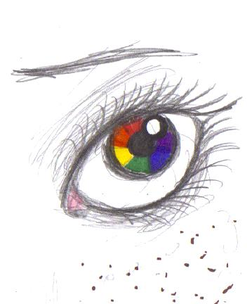 Color Wheel Eye By Ms Luther
