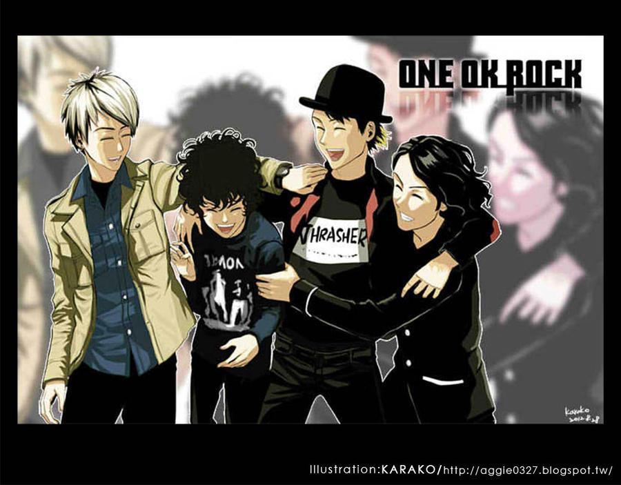 One Ok Rock By Poi333p On Deviantart